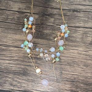 New multi strand necklace
